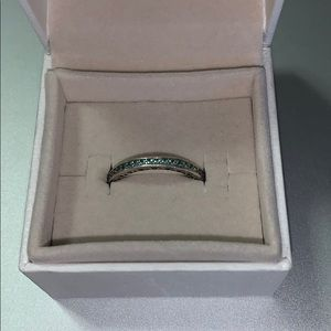 Disney Parks Pandora Sparkle & Hearts Ring
